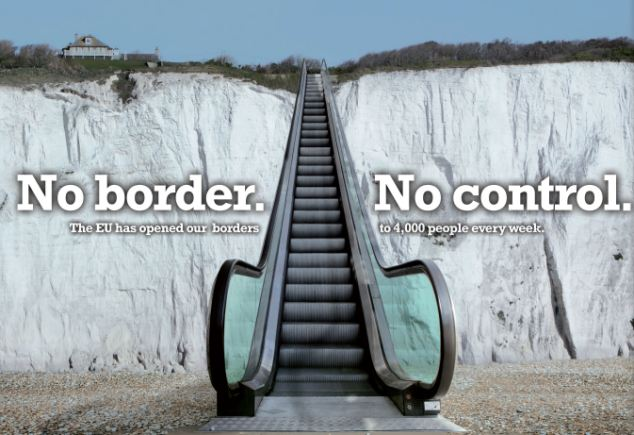 NO BORDER NO CONTROL!